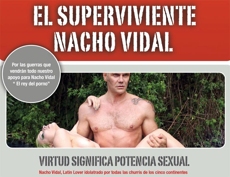 El superviviente Nacho Vidal